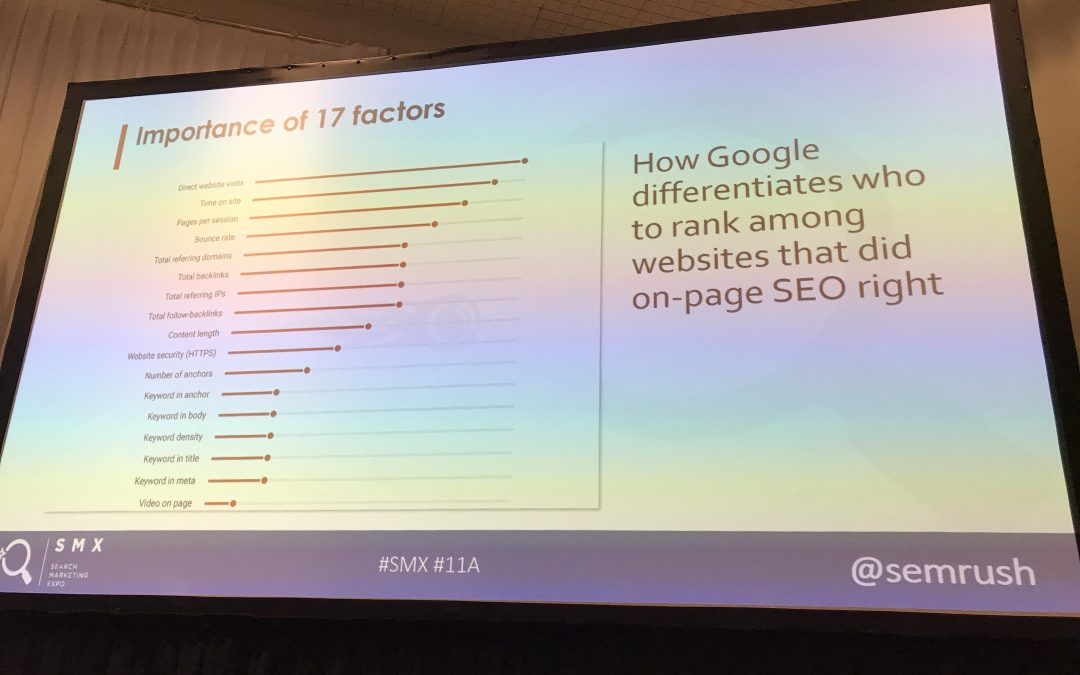 SEO Ranking Factors 2017: What Matters & What Doesn't