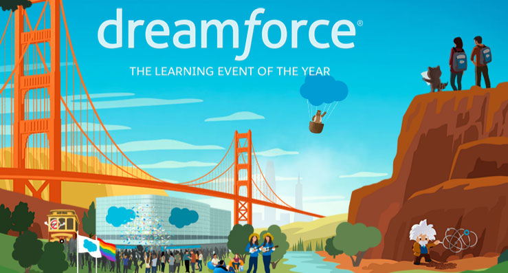 Dreamforce Day 1: Dare to Dream