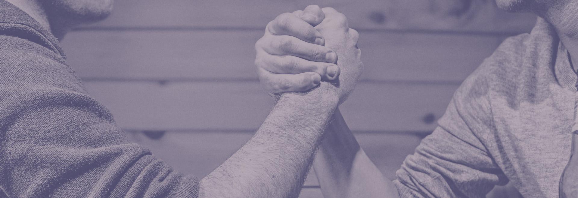 Marketing vs Sales Arm Wrestle