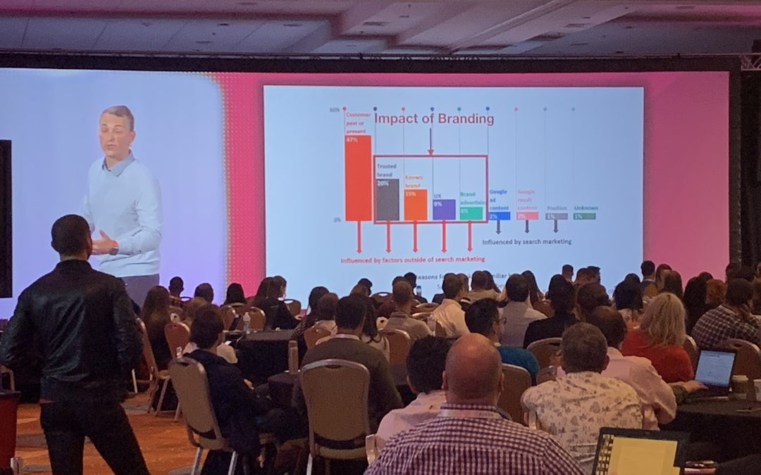 My first digital marketing conference experience