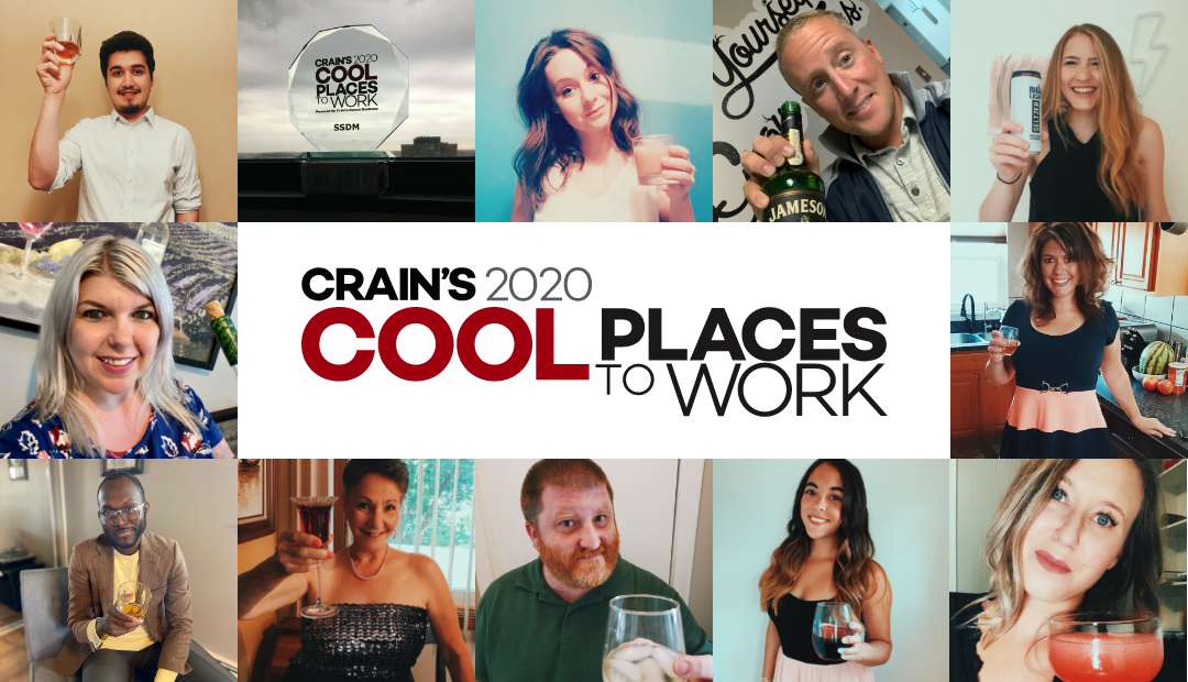 SSDM's toast for Crain's cool places to work award