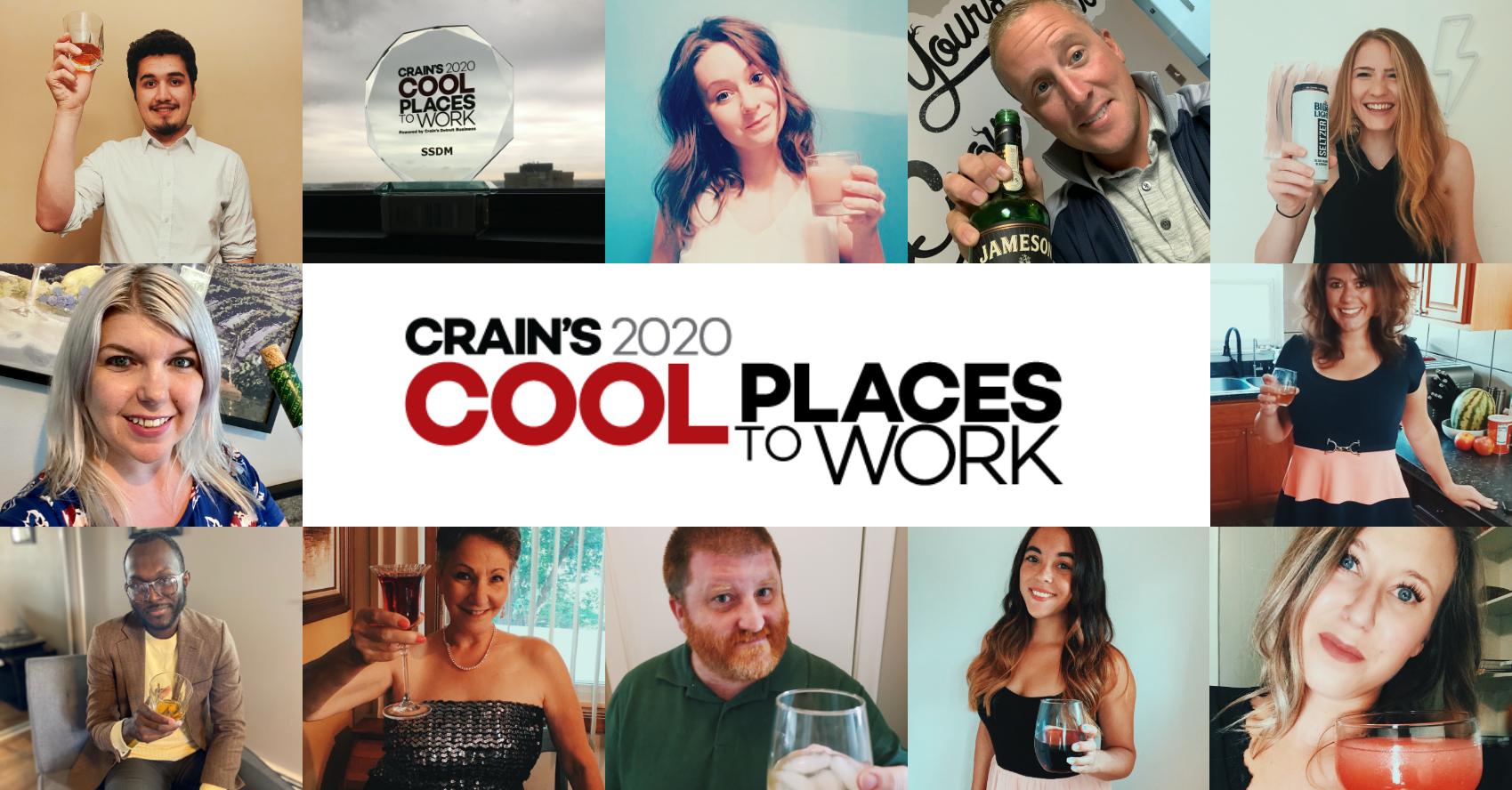 SSDM Crain's cool places to work team photo