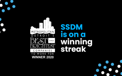 SSDM Named One of Metro Detroit's Brightest and Best for Second Year