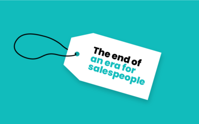 B2B salespeople and the end of an era