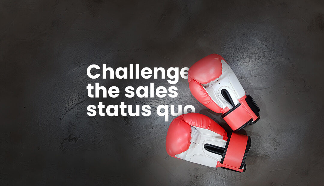 Challenging the sales norm