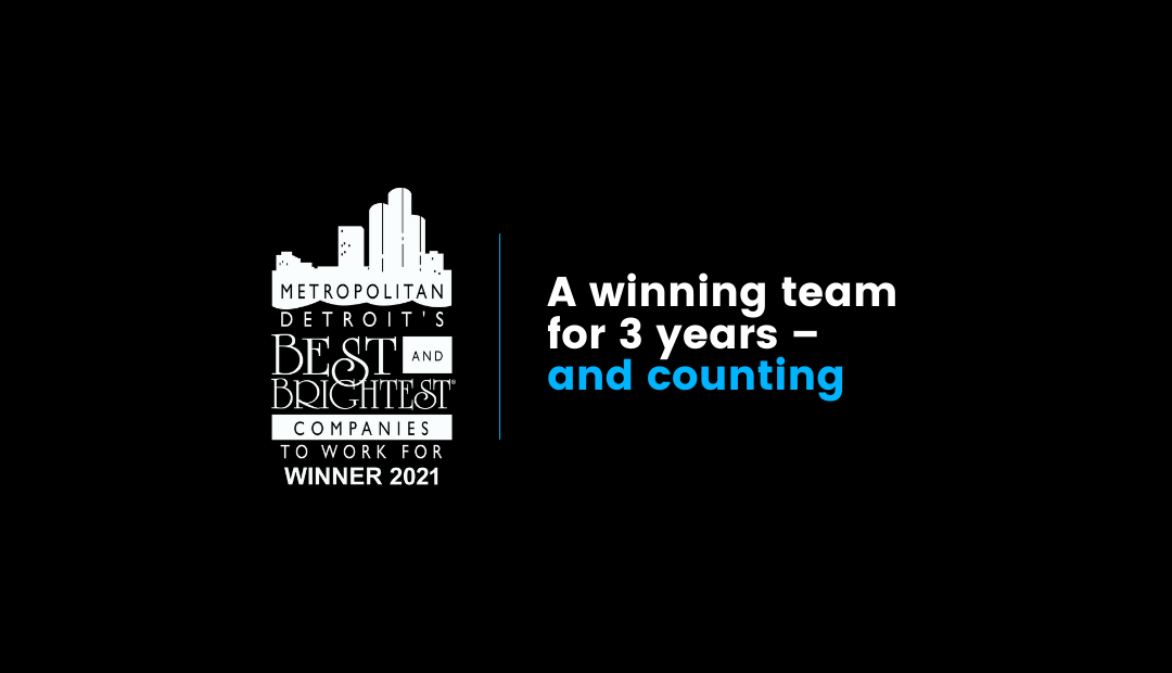 Detroits Best and Brightest award